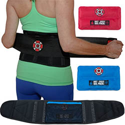 Back Support Belt & Lower Back Brace by Old Bones Therapy
