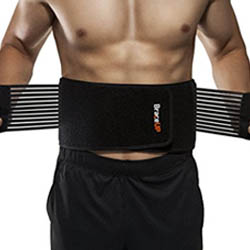 BraceUP Stabilizing Lumbar Lower Back Brace & Support Belt