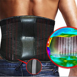 Medi-Back Brace with Integrated Thermal Action
